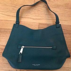 NWOT Marc Jacobs small dark teal shoulder bag